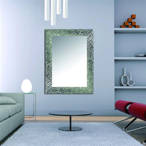 Espejo decorativo pared Plata 2418 de 98 x 77   Tienda del ...