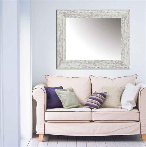Espejo decorativo pared Plata y Blanco 2134 97 x 76 ...