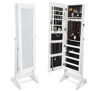 Espejo joyero organizador joyas lacado blanco | eBay