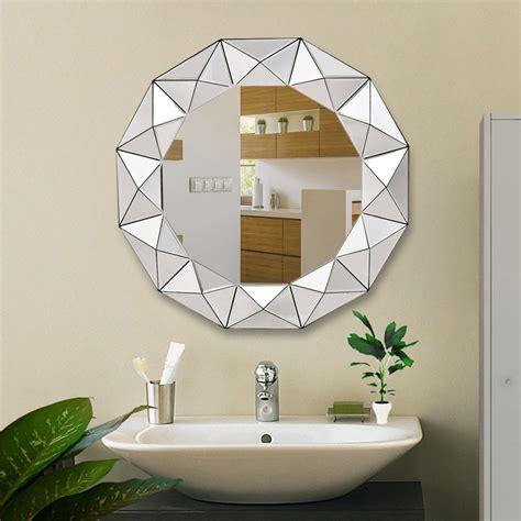 Espejo Para Baño Redondo Biselado 31.5 Diametro   $ 3,080 ...