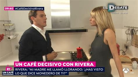 Espejo Público: Susanna Griso pregunta a Albert Rivera si ...