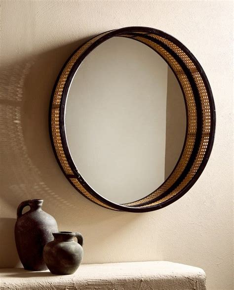 Espejo ratán zara home 59,99 € | Wood mirror, Zara home ...