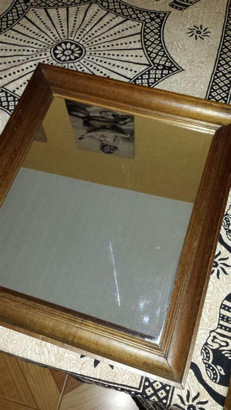 Espejo rústico con marco de madera teka. No ikea de ...