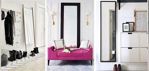 Espejos de pie y pared para decorar el recibidor   Decoora