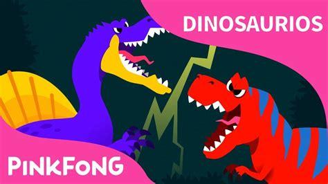 Espinosaurio vs Tiranosaurio   Dinosaurios   PINKFONG ...