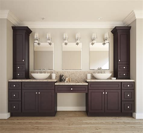 Espresso Bean   Ready to Assemble Bathroom Vanities & Cabinets