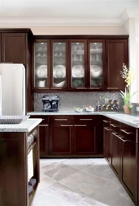 Espresso Kitchen Cabinets in 12 Sleek and Cool Designs ...
