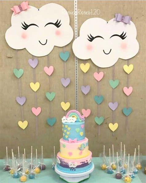 Está chovendo muito amor   Fiestas de cumpleaños unicornio ...