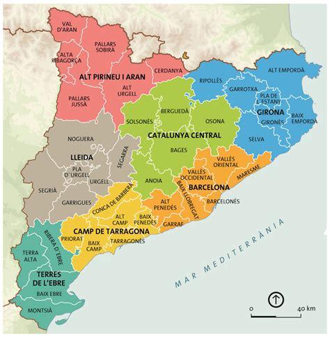 Esta és Catalunya que fica pobles de comarques | Comarques ...