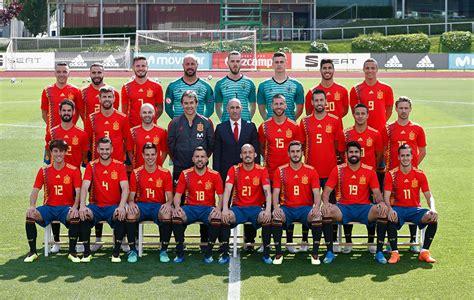 Esta es la foto oficial de la Selección Española para la ...