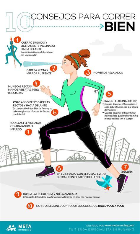 Esta es la postura correcta para correr   running ...