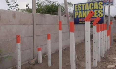 ESTACAS DE HORMIGÓN PARA CERRAMIENTOS DE FINCA   CONTAC