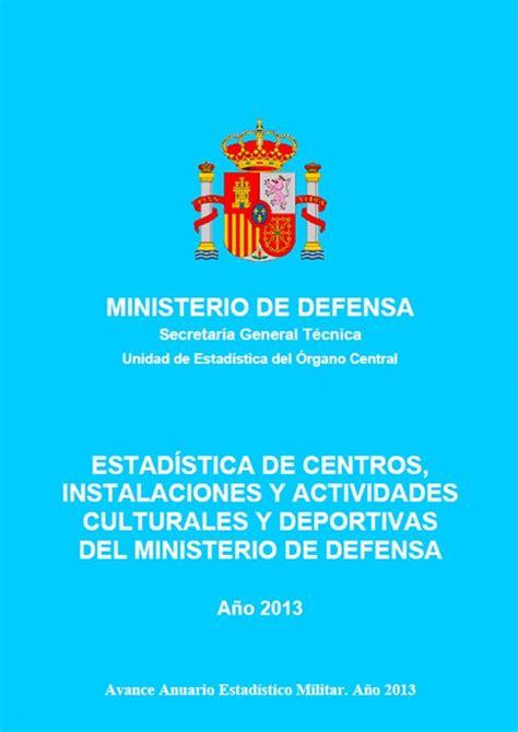 ESTADÍSTICA DE CENTROS, INSTALACIONES Y ACTIVIDADES ...
