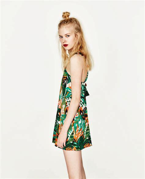 Estampado tropical | Zara: monos cortos, tendencia del ...