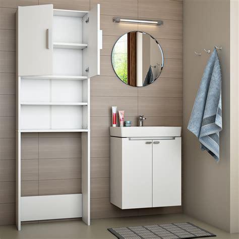 Estantería para baño armario alto lavadora superestructura ...