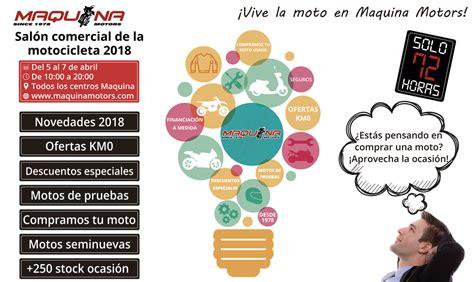 Este Año el SALON DE LA MOTO de BCN está en MAQUINA MOTORS ...