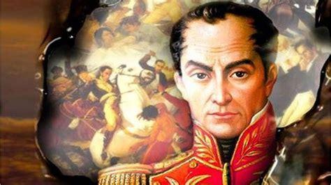 Este domingo se conmemoran 233 años del natalicio de Simón ...