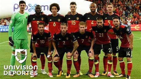 Este es Bélgica, el rival de México en fecha FIFA   YouTube