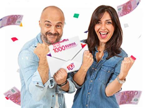 ¡Este lunes regresa El cumpleaños de los 1000 euros de ...