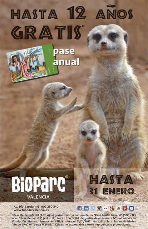 Este mes de enero BIOPARC ofrece GRATIS el pase B ...