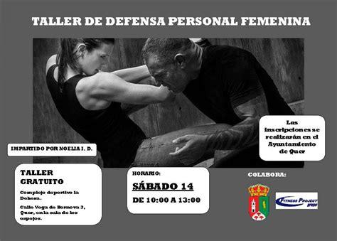 Este sábado, taller de defensa personal femenina