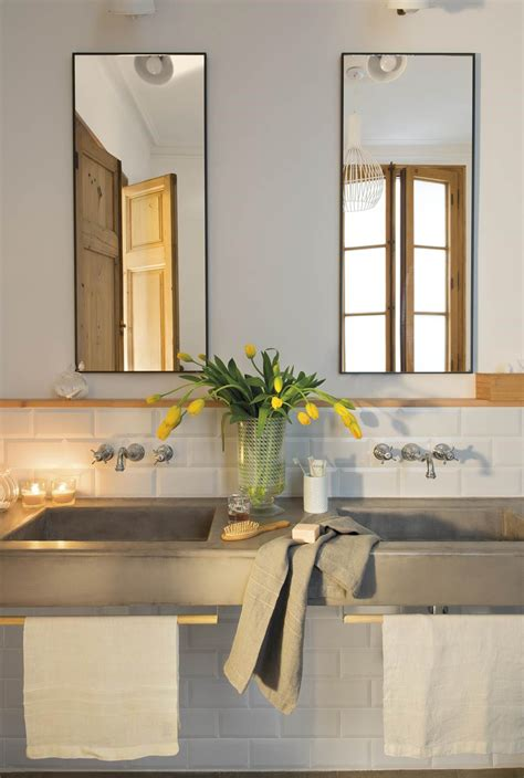 Estiliza en vertical | Baño microcemento, Espejos para ...