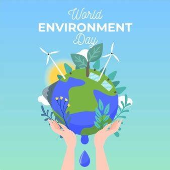 Estilo de papel para el concepto de día de medio ambiente ...