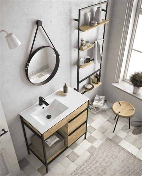 Estilo industrial en el baño con Vinci de Salgar | Banium.com