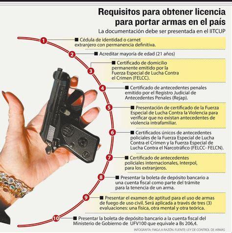Estiman que se registró el 50% de armas de uso civil   La ...