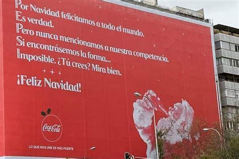 Esto es espíritu navideño: Coca Cola saluda a Pepsi   Metro