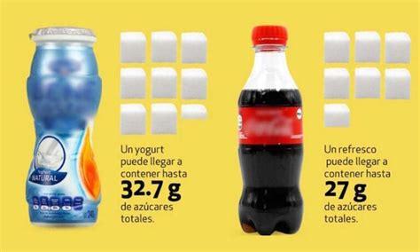 Estos son los yogures bebibles que tienen más azúcar que ...