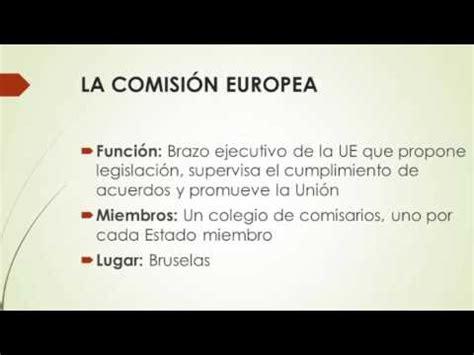 ESTRUCTURA DE LA UNIÓN EUROPEA   YouTube