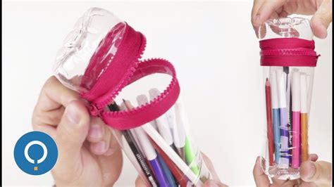 ESTUCHE ESCOLAR DIY   Manualidades para la escuela   YouTube