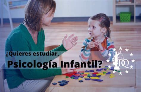Estudiar Psicología Infantil Online   Doctrina Qualitas