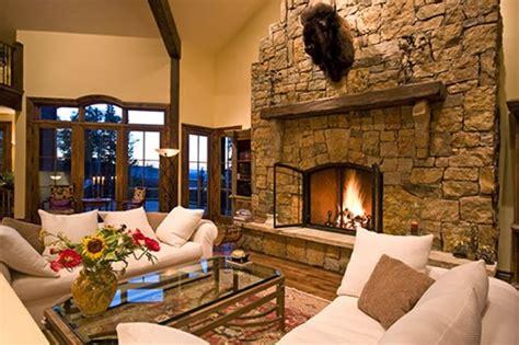 Estupendas salas con chimenea   Salas con estilo