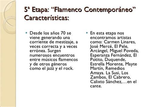 Etapas de la Historia del Flamenco