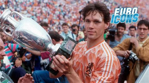 Euro Icons   1988: Marco van Basten and Dutch delight ...