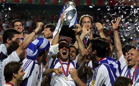 Eurocopa 2016. Palmarés Eurocopa. Eurocopa 2004 Portugal