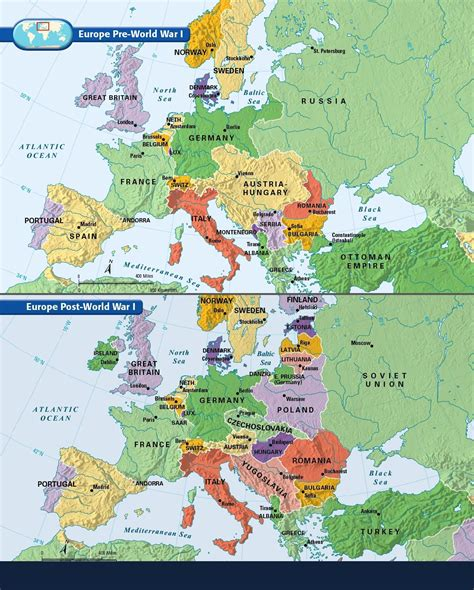 Europe: Before and After the Great War of 1914 1918 ...
