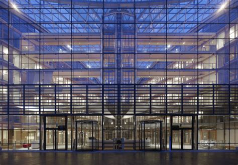 European Investment Bank  EIB  by Ingenhoven architects ...