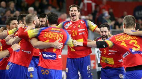 Europeo Balonmano 2018: España vs Francia: Horario y dónde ...