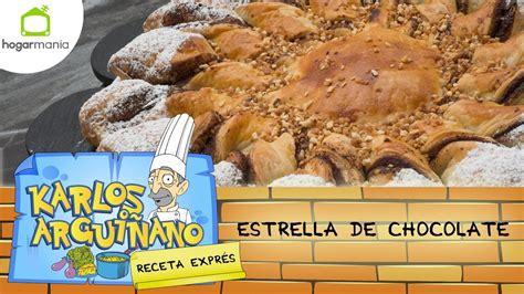 Eva Arguiñano: Receta de Estrella de chocolate   YouTube