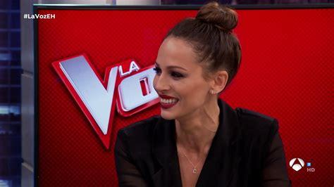 Eva González, presentadora de  La Voz  en Antena 3