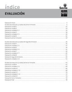 evaluacion matematicas 5primaria savia sm Book   material ...