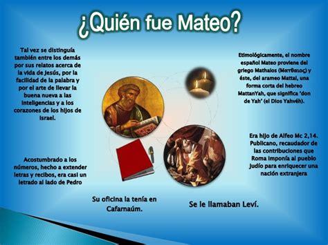 Evangelio San Mateo