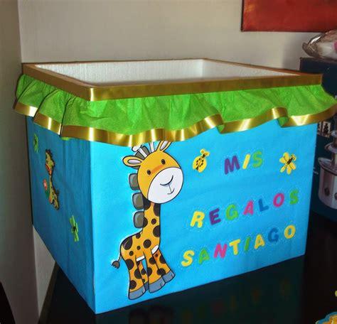 Eventos para tu Bebé: Caja regalos Animalitos de la Selva