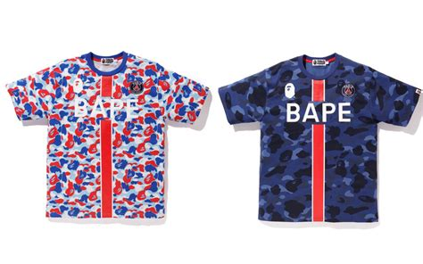Every item and pricelist of the BAPE X PSG
