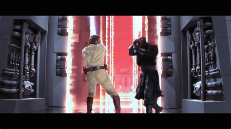 Every Lightsaber Duel from Star Wars  Episodes 1 6    YouTube