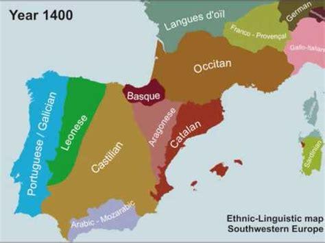 Evoluçom das línguas da Península Ibérica desde o ano 1000 ...