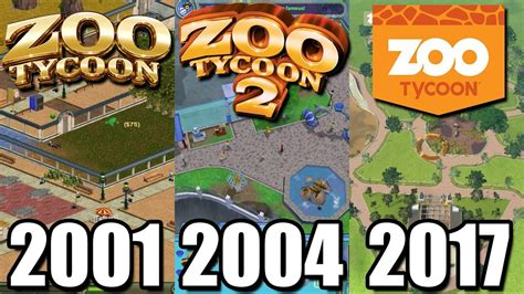 Evolution of Zoo Tycoon 2001 2017   What happened to Zoo ...